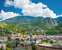 Andorra la Vella Stock Photography