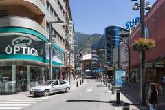 Andorra la Vella Stock Image