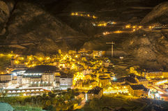 Andorra La Vella village Royalty Free Stock Photography