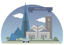 Andorra los angeles Vella Obrazy Stock