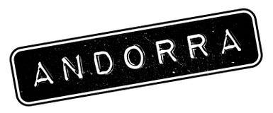 Andorra rubber stämpel Arkivfoton