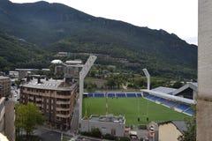 Andorra Stadium. Andorra la Vella Stock Image
