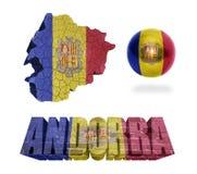 Andorra symbole Zdjęcia Stock
