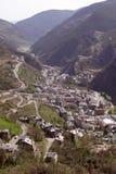 Andorra van vogelvlucht #2 Stock Foto