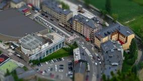 Andorra von oben stock video