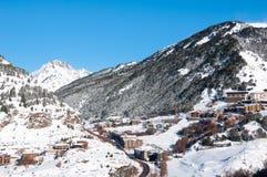 Andorra winter resort Granvalira Stock Photos