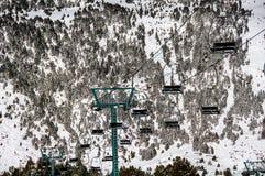 Andorra winter resort Granvalira Royalty Free Stock Images