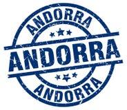 Andorra znaczek Zdjęcie Stock