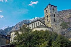 Andorran church Royalty Free Stock Photography