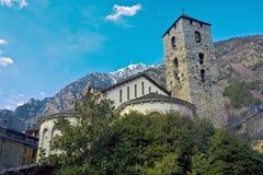 Andorrese kerk Royalty-vrije Stock Fotografie
