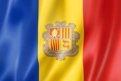 Andorrese Vlag vector illustratie
