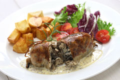 Andouillette, french lyonnaise sausage Royalty Free Stock Photo
