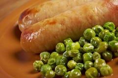 Andouillettte dish Stock Image