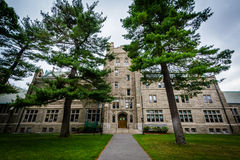 Andover Hall przy uniwersytetem harwarda, w Cambridge, Massachusetts Zdjęcie Stock