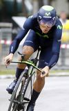 André Amador Team Movistar Stock Photos