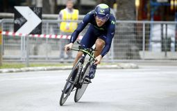 André Amador Team Movistar Royalty Free Stock Photo