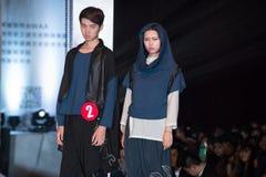 Andra serie Dao Yi-Fashion Show Royaltyfria Bilder
