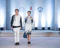 Andra serie Dao Yi-Fashion Show Royaltyfri Bild
