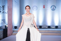 Andra serie Dao Yi-Fashion Show Royaltyfri Fotografi