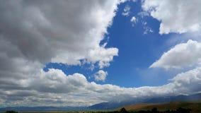 12-andra Timelapse Carson Valley, NV arkivfilmer
