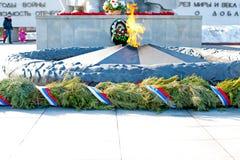 Andra världskrig 1939-1945, Victory Memorial, Ryazan, Ryssland Royaltyfri Bild