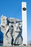 Andra världskrig 1939-1945, Victory Memorial, Ryazan, Ryssland Royaltyfria Bilder