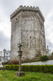Andrade castle in the town of Vilalba, Lugo Stock Images