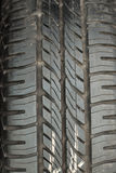 Andrahands- gummihjul royaltyfri bild