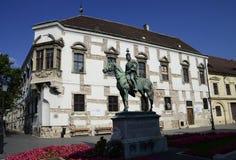 Andras Hadik statue Stock Photos