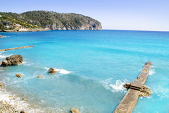 Andratx Camp de Mar in Mallorca Balearic Islands royalty free stock photos