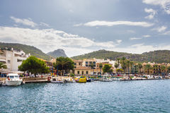 Andratx, Mallorca, Baleares, Spain. Beautiful view of Andratx, Mallorca, Baleares, Spain Royalty Free Stock Images