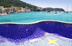 Andratx port in Majorca Balearic island Stock Photography