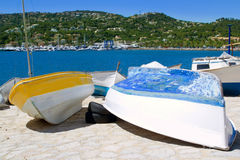 Andratx port marina in majorca Stock Image
