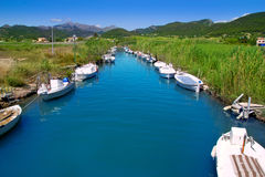 Andratx port marina in Mallorca balearic islands Stock Image