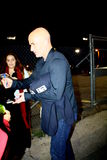 Andre Agassi. Andre signs autographs after appearance Royalty Free Stock Images