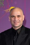 Andre Agassi, Alfred Mann Stock Photography