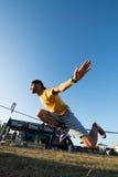 Andre antunes Slackline performance Royalty Free Stock Photos