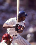 Andre Dawson, Chicago Cubs. Chicago Cubs of Andre Dawson.  (Image taken from color slide Royalty Free Stock Image