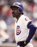 Andre Dawson. Chicago Cubs OF Andre Dawson.  Image taken from color slide Stock Photos