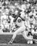 Andre Dawson. Chicago Cubs outfielder Andre Dawson.  (Image taken from B&W negative Royalty Free Stock Photo