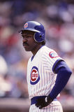 Andre Dawson. Chicago Cubs star Andre Dawson. (Image taken from color slide Stock Photos