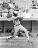 Andre Dawson. Montreal Expos legend Andre Dawson.  (Image taken from b&w negative Royalty Free Stock Images