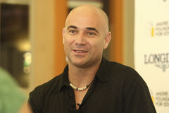 Andre de Agassi Fotos de Stock Royalty Free