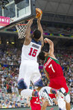 Andre Drummond of USA Team Stock Images