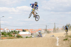 Andre Duarte big jump Royalty Free Stock Images