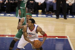 Andre Iguodala & Paul Pierce Royalty Free Stock Image