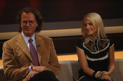 Andre Rieu, Jeanette Biedermann Stock Photography