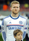 Andre Schurrle of Chelsea Stock Images