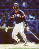 Andre Thornton, Cleveland Indians Royalty Free Stock Image