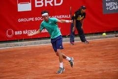 ANDREA ARNABOLDI. Italian tennis player Andrea Arnaboldi pictured at BRD Nastase Tiriac Trophy, in Bucharest, Romania, Tuesday, April 19, 2016 Stock Image